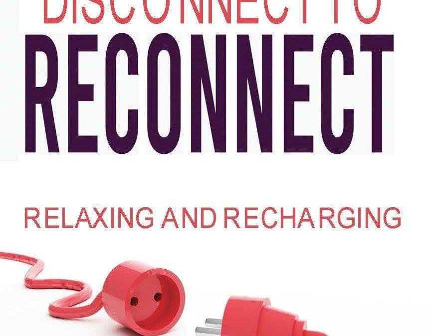 Relaxing and Recharging